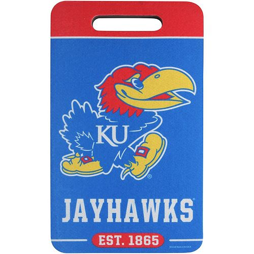 "WinCraft Kansas Jayhawks 10"" x 17"" Stadium Seat Cushion"