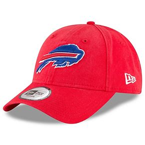 Men's New Era Red Buffalo Bills NE Core Fit 49FORTY Fitted Hat