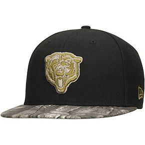 Men's New Era Black/Realtree Camo Chicago Bears Rambo 59FIFTY Fitted Hat