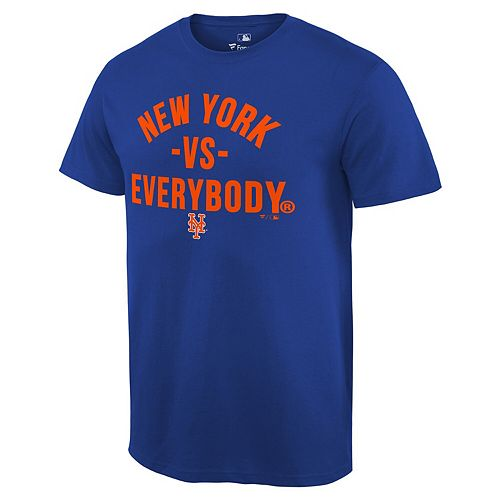 Men's Fanatics Branded Royal New York Mets MLB vs. Everybody T-Shirt