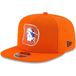 Men's New Era Orange Denver Broncos 2017 Color Rush 9FIFTY Snapback Adjustable Hat
