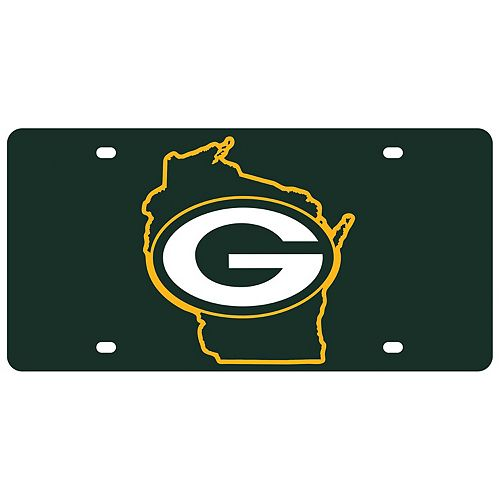 Green Bay Packers State Pride License Plate