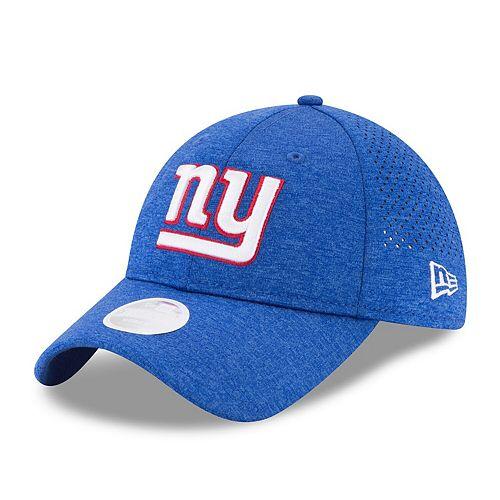 Women's New Era Royal New York Giants 2017 Training Camp Official 9TWENTY Adjustable Hat
