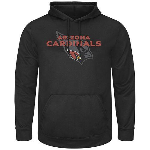 Men's Black Arizona Cardinals Pick Six Pullover Hoodie