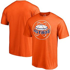 Men's Fanatics Branded Orange Houston Astros Cooperstown Forbes T-Shirt