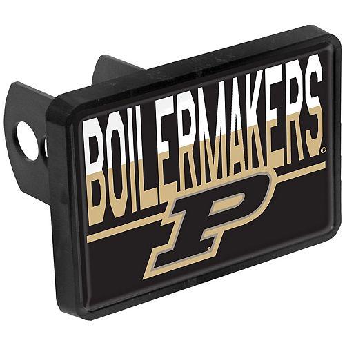Purdue Boilermakers Duo-Tone Rectangular Plastic Hitch Cover