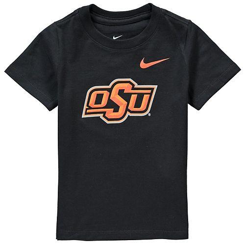 Toddler Nike Black Oklahoma State Cowboys Logo T-Shirt