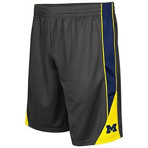 Men's Colosseum Charcoal Michigan Wolverines Turnover Shorts