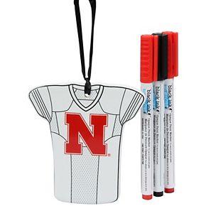 Nebraska Cornhuskers Just Add Color Jersey Ornament