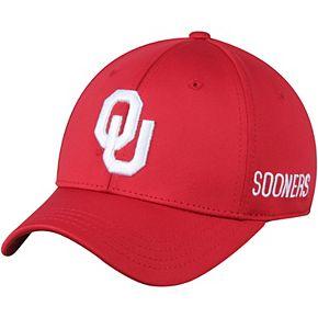 Men's Top of the World Crimson Oklahoma Sooners Choice Flex Hat