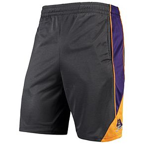 Men's Colosseum Charcoal ECU Pirates Turnover Team Shorts