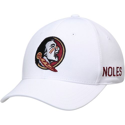 Men's Top of the World White Florida State Seminoles Choice Flex Hat