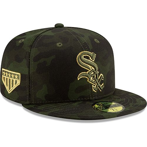 Chicago White Sox New Era 2019 MLB Armed Forces Day On-Field 59FIFTY Fitted Hat - Camo