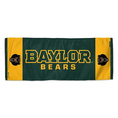 """WinCraft Baylor Bears 12"""" x 30"""" Primary Double-Sided Cooling Towel"""