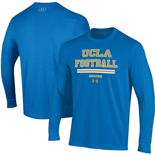 Men's Under Armour Blue UCLA Bruins Sideline Performance Long Sleeve T-Shirt