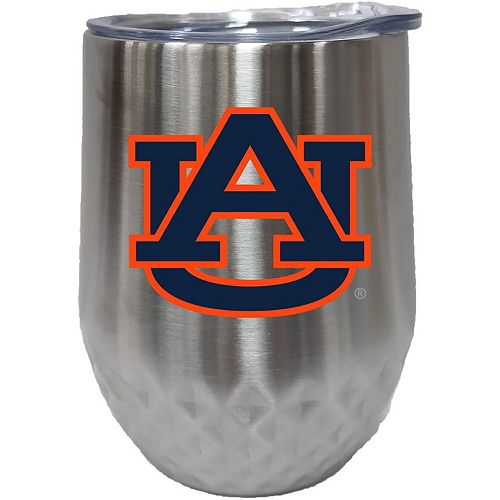 Auburn Tigers 12oz. Stainless Steel Stemless Diamond Tumbler