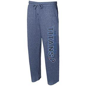 Men's Concepts Sport Navy Tennessee Titans Quest Knit Lounge Pants