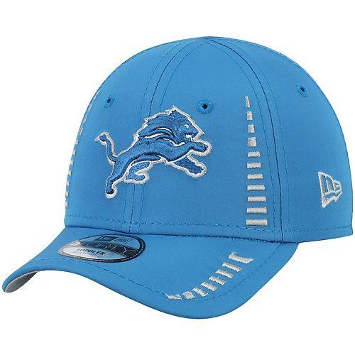 Toddler New Era Blue Detroit Lions Speed 9FORTY Adjustable Hat