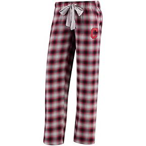 Women's Concepts Sport Navy Cleveland Indians Forge Flannel Pants