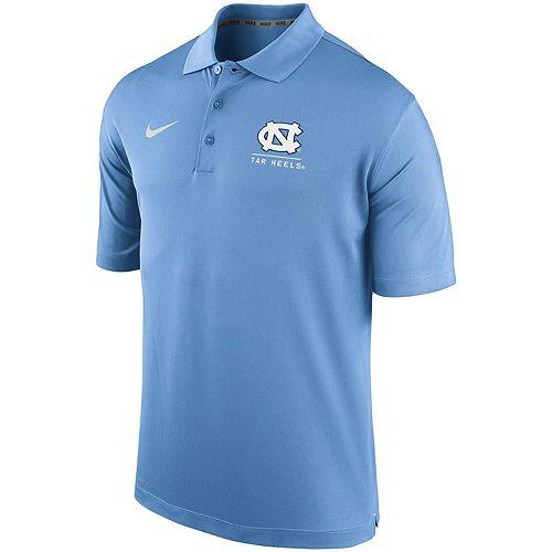 Men's Nike Carolina Blue North Carolina Tar Heels Basketball Varsity Polo