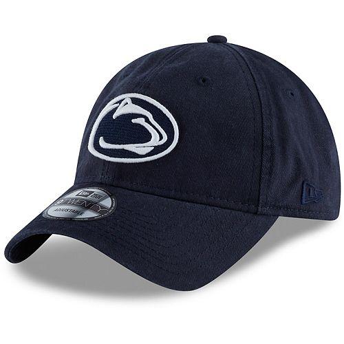Men's New Era Navy Penn State Nittany Lions Core Classic Tonal 9TWENTY Adjustable Hat