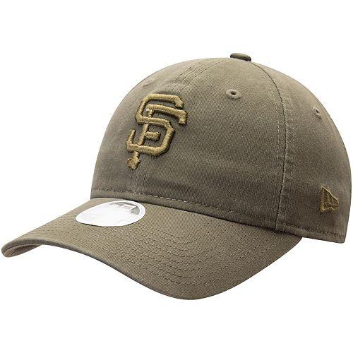 Women's New Era Green San Francisco Giants Olive Tonal Core Classic 9TWENTY Adjustable Hat