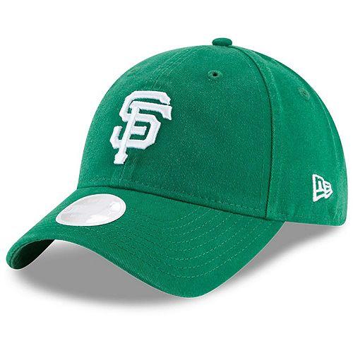Women's New Era Green San Francisco Giants Core Classic Twill St. Patrick's Day 9TWENTY Adjustable Hat