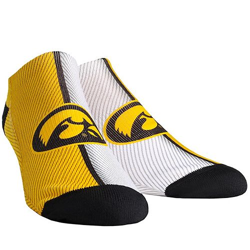 Youth Iowa Hawkeyes Campus Stripe Ankle Socks