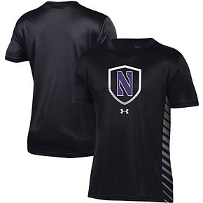 Youth Under Armour Black Northwestern Wildcats Performance Novelty T-Shirt