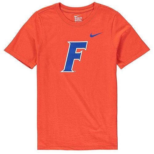 Youth Nike Orange Florida Gators Alternate Logo Cotton T-Shirt