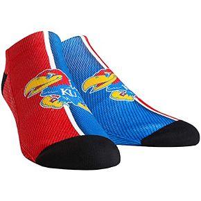 Men's Kansas Jayhawks Campus Stripe Ankle Socks
