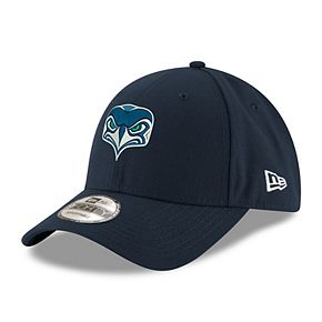 Women's New Era Navy Seattle Seahawks Alternate Team Logo Gear 9FORTY Adjustable Hat