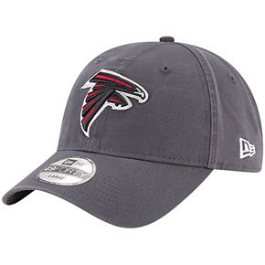 Men's New Era Graphite Atlanta Falcons Core 49FORTY Fitted Hat