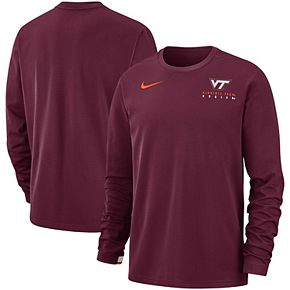 Men's Nike Maroon Virginia Tech Hokies Performance Sweatshirt