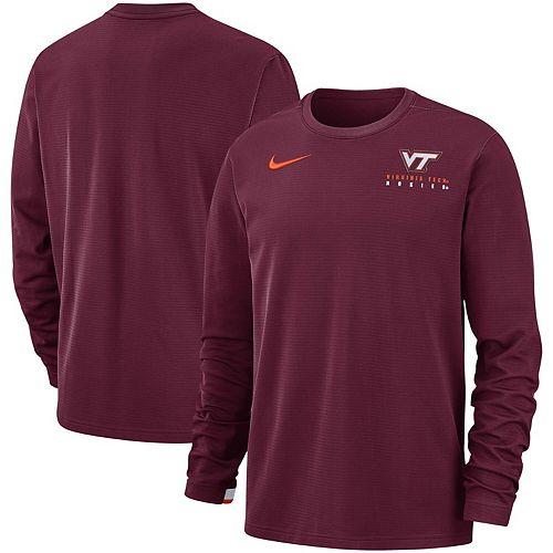 Men's Nike Maroon Virginia Tech Hokies Performance Sweatshirt