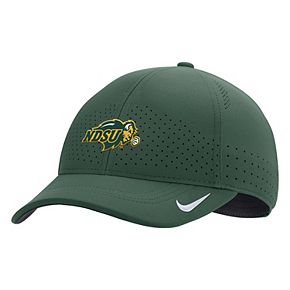 Men's Nike Green NDSU Bison Sideline Coaches Classic 99 Flex Hat