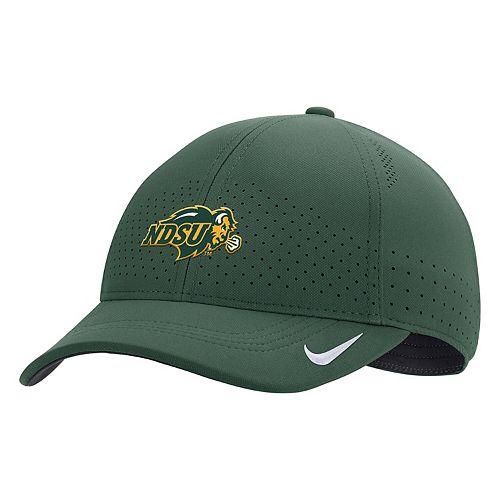 Men's Nike Green NDSU Bison Sideline Coaches Classic 99 Flex Hat