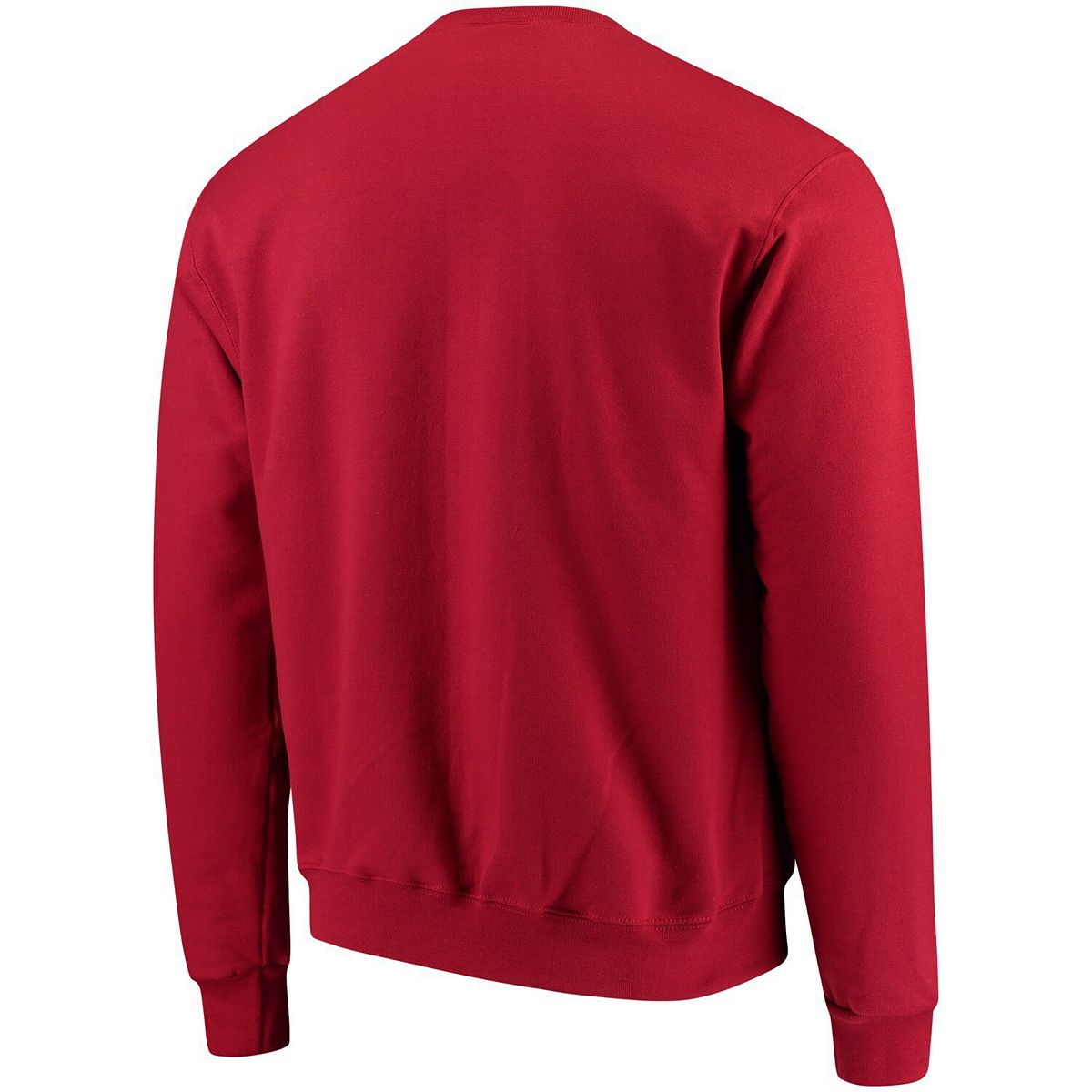 Men's Champion® Crimson Harvard Crimson Eco Powerblend Expansion Pullover Sweatshirt 4Algd