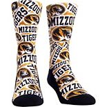 Youth Missouri Tigers Logo Sketch Crew Socks