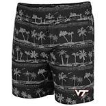Men's Colosseum Black Virginia Tech Hokies Maui Swim Shorts