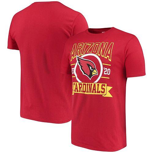 Men's Cardinal Arizona Cardinals Banner T-Shirt