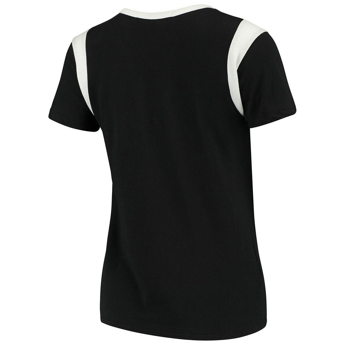 Women's Junk Food Black/White Arizona Cardinals Retro Sport T-Shirt FmzQS