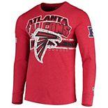 Men's G-III Extreme Red Atlanta Falcons Extreme Jump Shot Long Sleeve T-Shirt