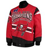 Men's G-III Extreme Red Tampa Bay Buccaneers Gladiator Commemorative Cotton Twill Jacket