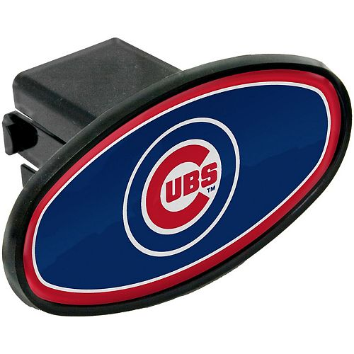 WinCraft Chicago Cubs Fixed Oval Hitch Cover