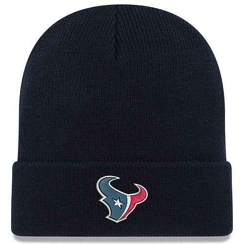 Infant New Era Navy Houston Texans My First Cuffed Knit Hat