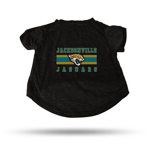 Sparo Black Jacksonville Jaguars Pet T-Shirt
