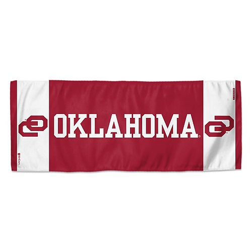 "WinCraft Oklahoma Sooners 12"" x 30"" Primary Double-Sided Cooling Towel"