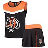 Youth Black/Orange Cincinnati Bengals Spirit Cheer Two-Piece Cheerleader Set