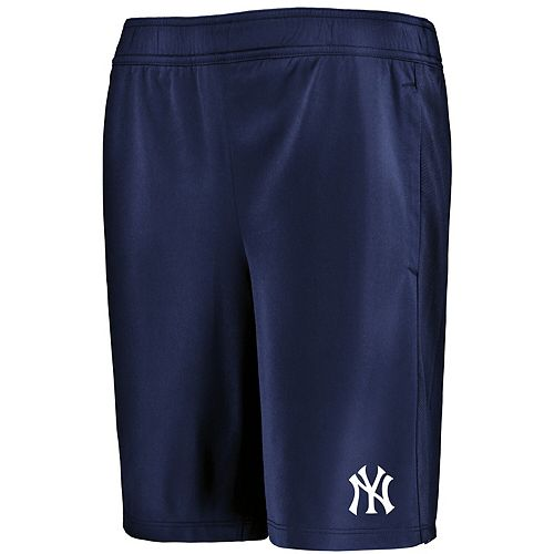 Youth Under Armour Navy New York Yankees MK-1 Performance Shorts